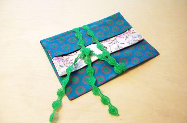 DIY für schöne Geschenktasche aus Stoff