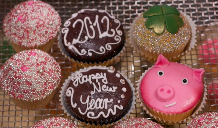 Silvester cupcake                                                                                                                                                                                 Mehr