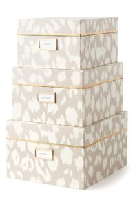 Nested Storage Boxes Decorative