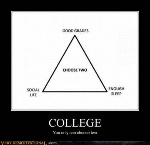 Funny Quotes About College: Funny Quote About College Life