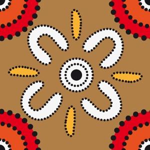 pattern design australian aboriginal style by Matthias Hennig, via Behance