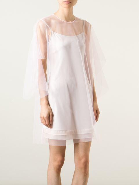 Msgm Tulle Shift Dress - Eraldo - Farfetch.com