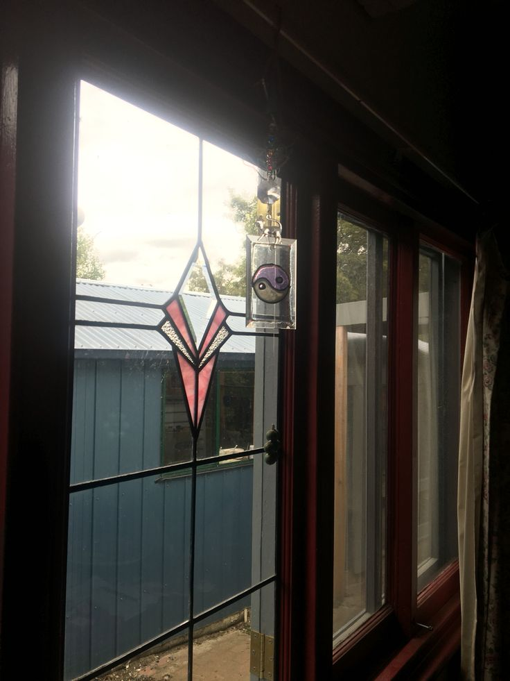 Leadlight dining room window