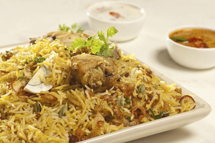 #MyWayOnHighway: Day 48, Delicious chicken biryani in Hyderabad #India #food