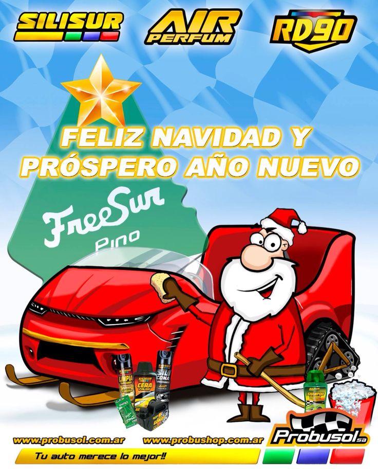Feliz navidad y prospero año nuevo les desea probusol s.a.