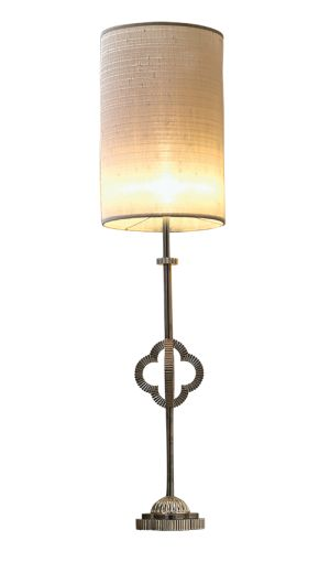 We've made sure this QUATREFOIL medium table lamp is extra special. It bears our favourite four-leaf clover motif, as seen in private jewellery collections, crafted from the finest metals. #quatrefoil #handmade #lamp #tablelamp #clover #fourleafclover #silver #fluted #jewelry#craft #gothic #ivory #silk #interiors #decor #Alhambra #highend #luxury #design #MARIIANIQ
