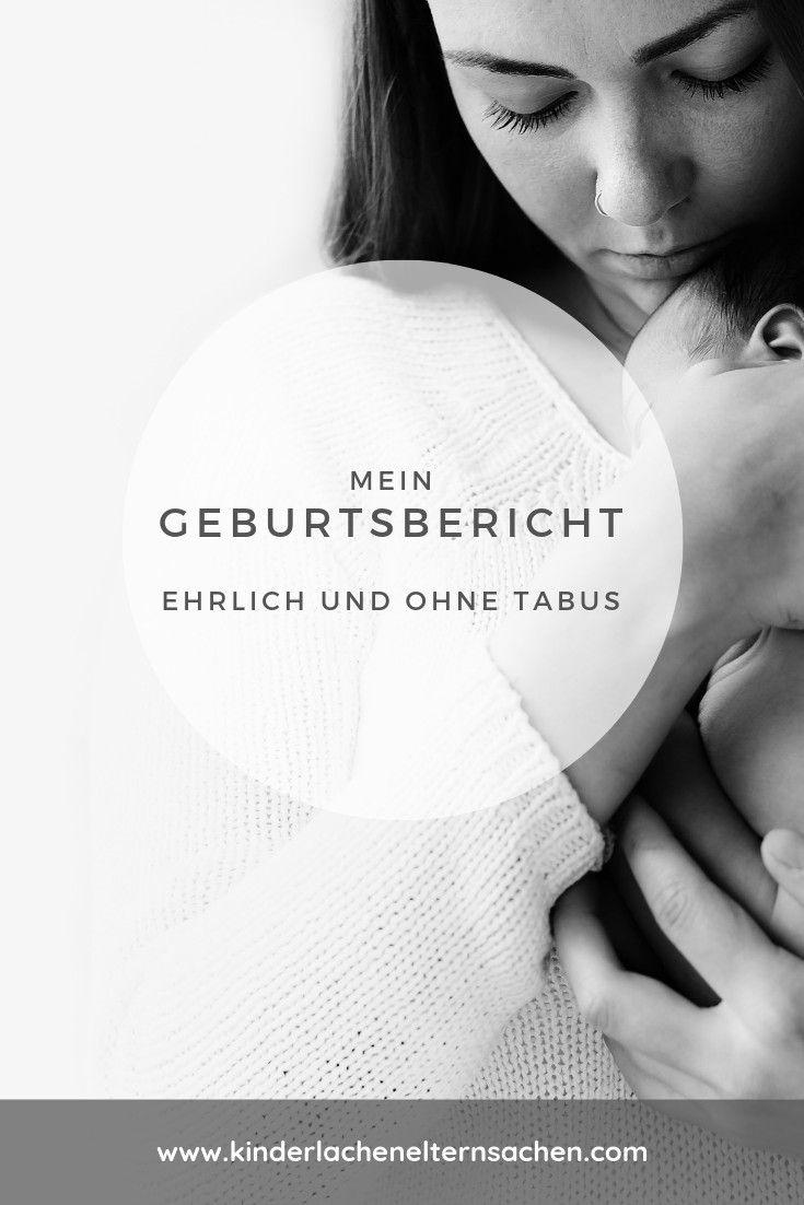 Geburtsbericht – ehrlich und ohne Tabus