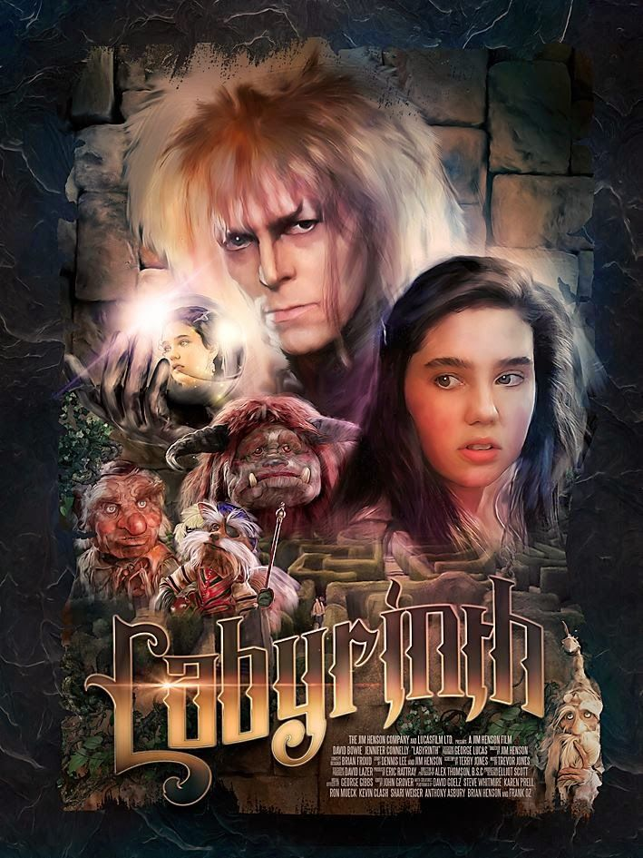 40 best images about Amazing Posters on Pinterest ... Labyrinth Cast