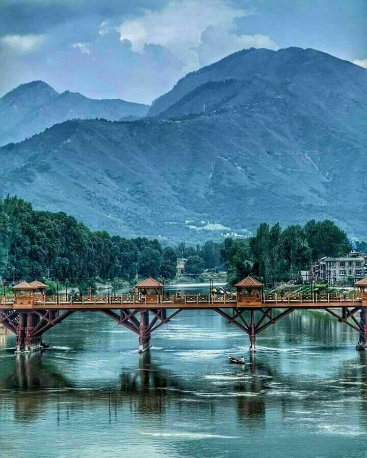 Zero Bridge Kashmir India Kashmir India India Travel Places Dream Vacations Destinations