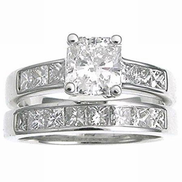 Nice Engagement Diamonds Rings Princess Cut