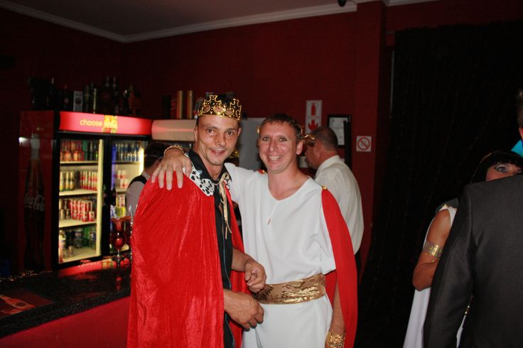 Guests all dressed up on Valentines Day Feb 2013 -Kings and Queens theme