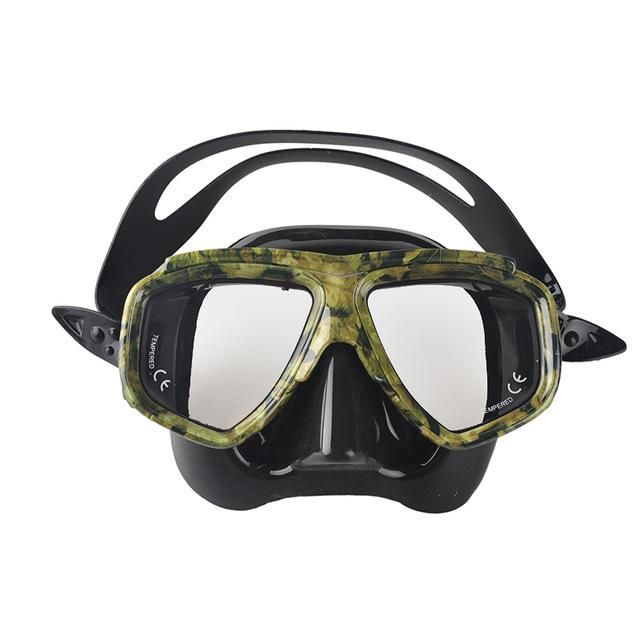 OUTDOOR DIVING MASK PROFESSIONAL SPEARFISHING SCUBA MYOPIA AND HYPEROPIA GEAR SWIMMING MASK FOR DIVING GOGGLES