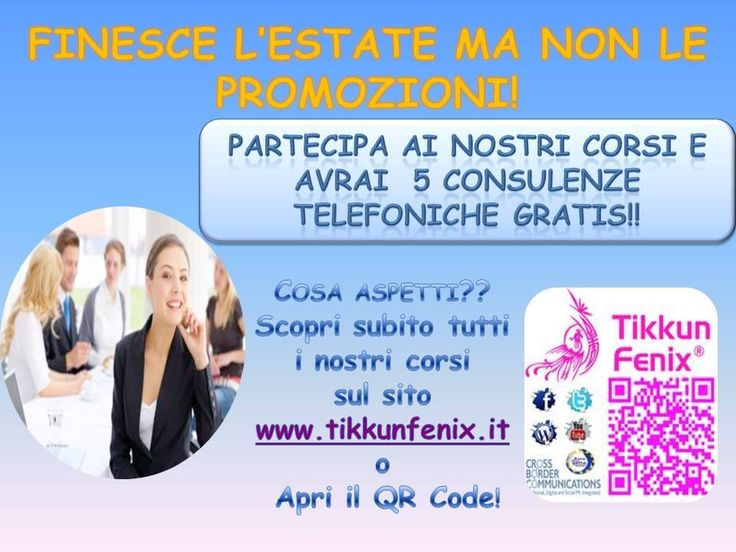 Coaching Promotions. Chek  www.tikkunfenix.it