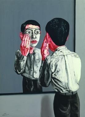 Zeng Fanzhi, Unknown on ArtStack #zeng-fanzhi-ceng-fan-zhi #art