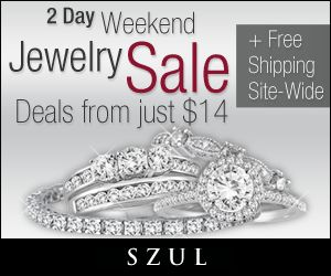 #Jewelry Diamonds Gold Silver Engagement Wedding Rings Earrings  http://www.planetgoldilocks.com/jewelry.htm  Weekend BLOWOUT Deal - 5.75 Carat Natural Blue Topaz and #DiamondJewelry Set - $29 + #FreeShipping  2 Day Weekend Sale - Jewelry Deals from just $14 + Free Shipping - Deals Valid thru Sunday, October 5th #fashionjewelry #fashions #shopping #gifts #coupons