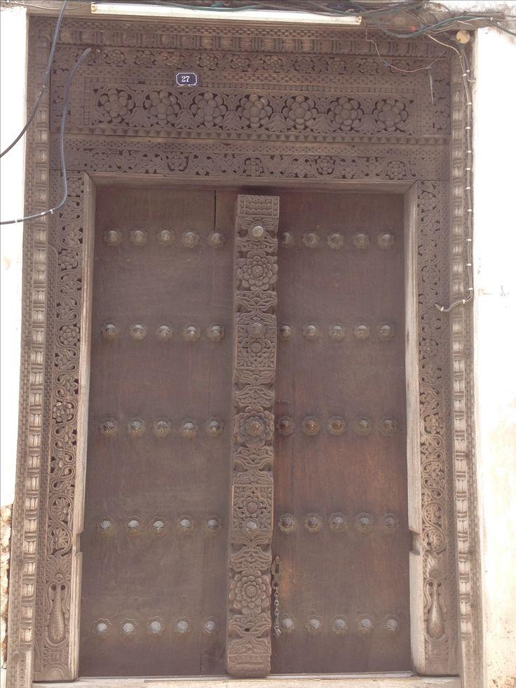 Door stone Town zanzibar