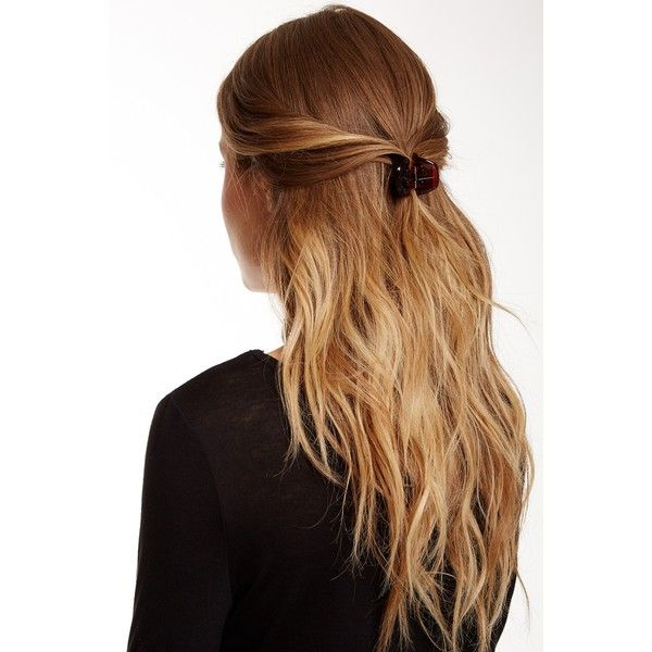 claw clip hairstyles : ... hair hairstyles tortoise hair clip hairstyles claw luxe france