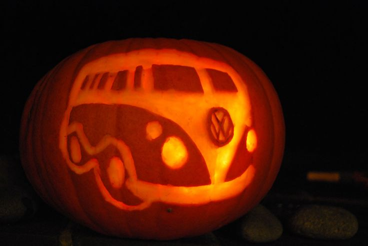 halloween pumpkin carving second vw stuff i 39 ve made pinterest halloween k rbis. Black Bedroom Furniture Sets. Home Design Ideas