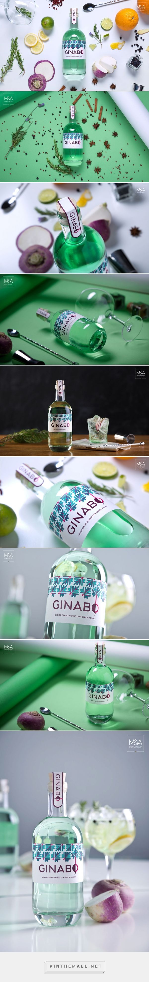 Ginabo || Gin Packaging Design