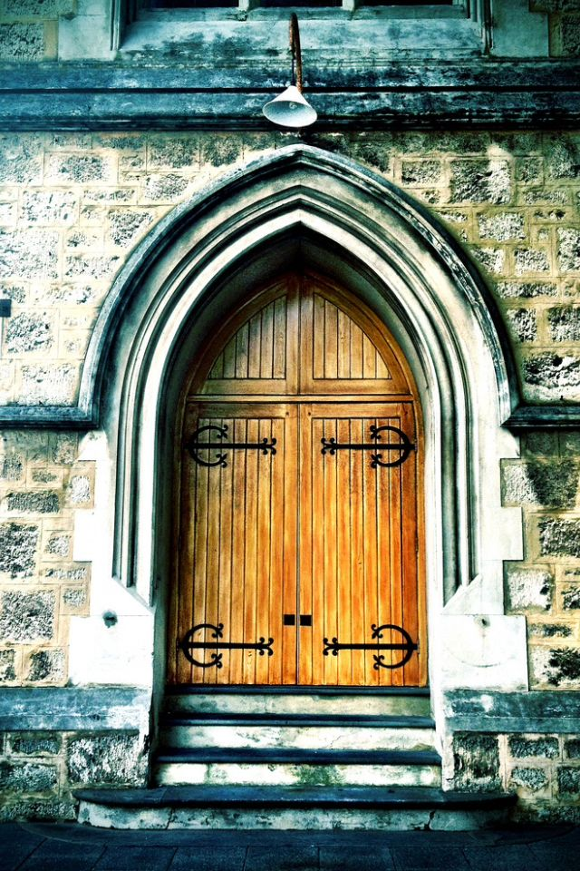 Wesleyan Church Door-Fremantle-Perth