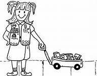 girl scout coloring sheets bing images