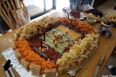 football party food party-food party-food food food: Super Bowl, Recipe, Superbowl, Football Parties, Football Party, Party Ideas, Football Stadium, Party Food