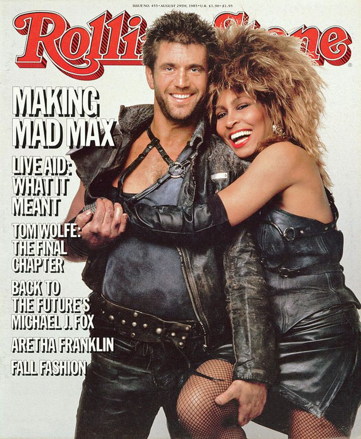 Mel Gibson y Tina Turner, 1985