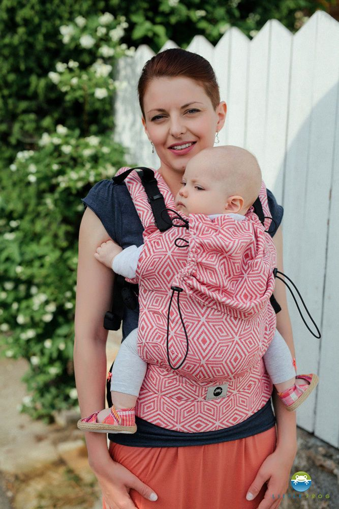 5c435c6279e Little Frog Ergonomic Carrier-Red Cube  baby  babies  kid  girl  boy ...