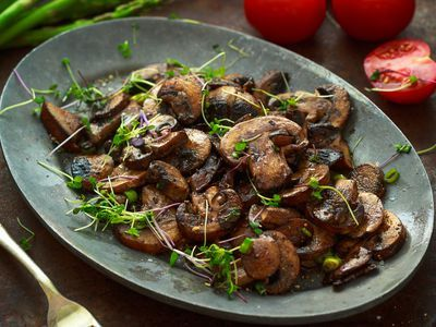 See how easy it is to saute mushrooms perfectly with this easy recipe with variations for tons of flavor.