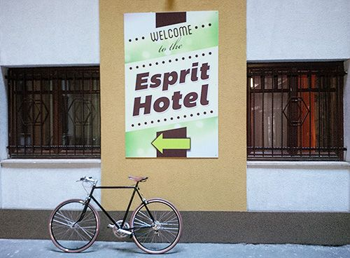 Billboard for Esprit Hotel
