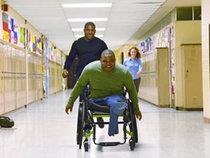 Dartanyon Crockett and Leroy Sutton - Let's Hear it for the Boys. A touching story of two disabled and disadvantaged athletes, who not only persevere, but triumph.