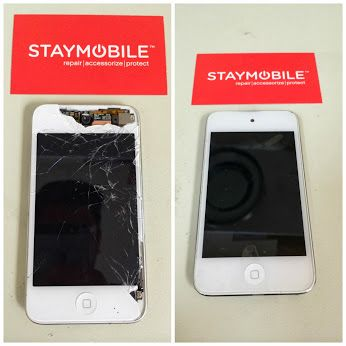 Before And After Iphone Repair Cracked Glass