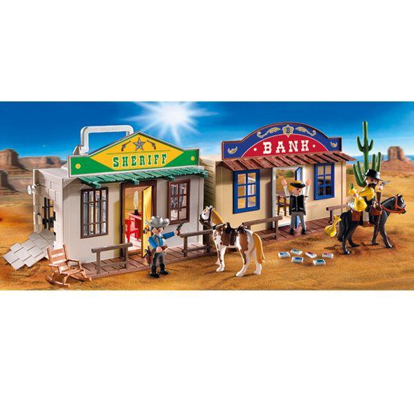 Playmobil Возьми с собой: Дикий Запад Playmobil (Плеймобил)