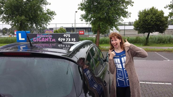 autorijbewijs halen Zaandam, Patriciaat Heerde vandaag voor het eerst naar het CBR en meteen geslaagd haar rijexamen!