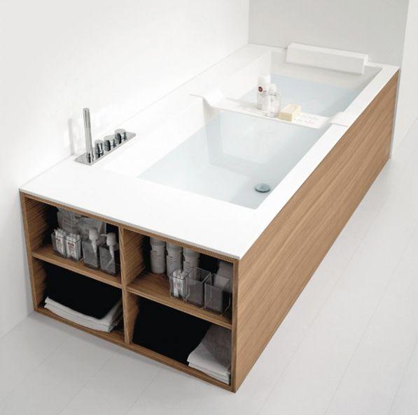 Oltre 25 fantastiche idee su bordo vasca da bagno su - Bordo vasca da bagno ...