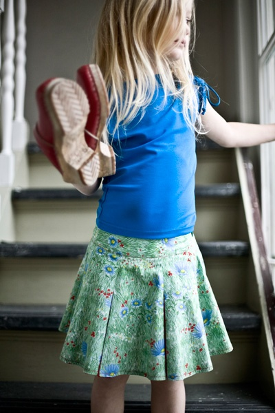 summer skirt, by atelier assemblé