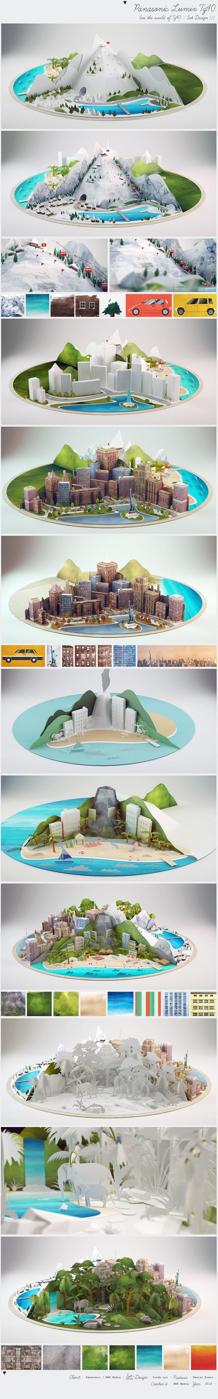 3D & vector