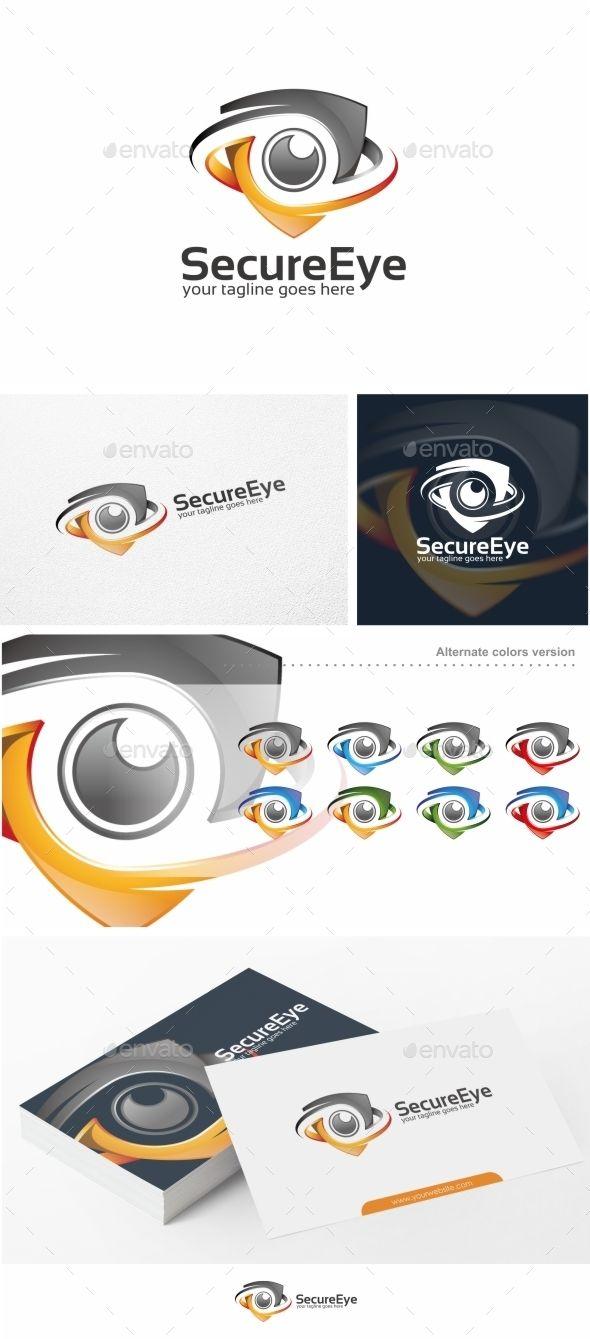 Secure Eye / Camera Logo Template #design #logotype Download: http://graphicriver.net/item/secure-eye-camera-logo-template/12925329?ref=ksioks