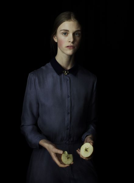 by julia hetta for acne paper. such a classical proportions of light and darkness. i would like to photograph myself this way