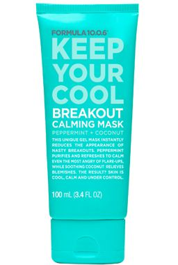 Formula 10.0.6   Keep Your Cool   Breakout Calming Mask   Peppermint + Coconut