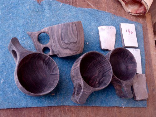 黒檀のマグカップ作り - 木工旋盤・Woodturning・ウッドターニング・EBONY BLOG