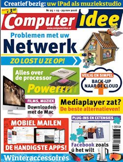 Proefabonnement: 3x ComputerIdee € 9,99: Lees Computer Idee, het blad dat niet moeilijk doet over computers. Helder, duidelijk, leerzaam en goedkoop. Neem een proefabonnement op ComputerIdee en profiteer van een aantrekkelijke korting.