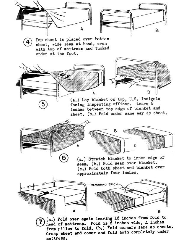The Proper Way to Make Your Bed, the Navy SEAL Way Make