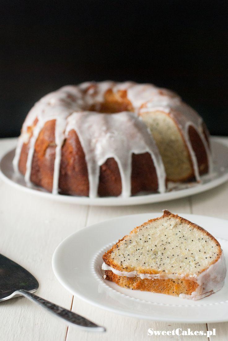 lemon poppy seeds bundt cake - babka cytrynowa z makiem