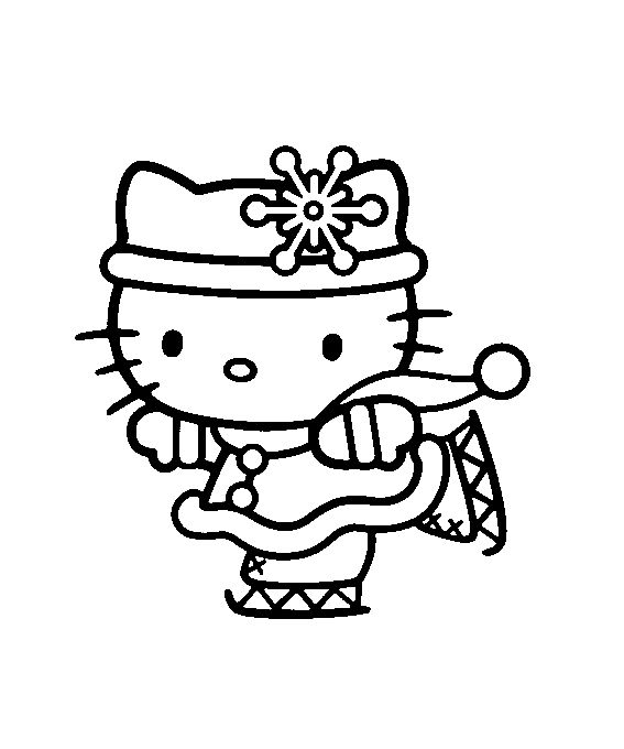 Hello Kitty Soccer Coloring Pages : Best images about hello kitty on pinterest