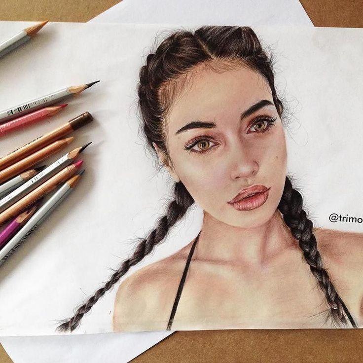 Repost von @trimorracaj #wolfiecindy FOLGEN SIE Terezie Kyselova & TAG Ihre Kunstwerke #LADYTEREZIE, um sich zu präsentieren! HOT TIPS KLICKEN Link in meinem Profil über …