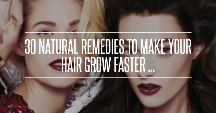 30. You Are What You Eat - 30 #Natural Remedies to Make Your #Hair Grow #Faster ... → Hair #Based