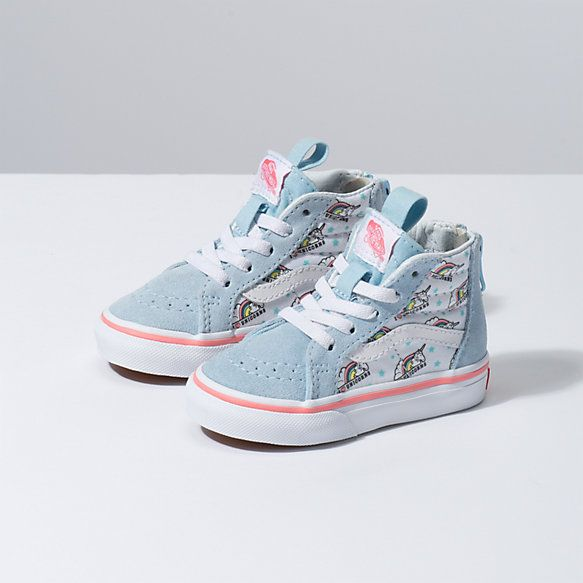 Toddler Unicorn Sk8-Hi Zip | Toddler