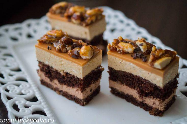 Prajitura Noisette - Lucky Cake
