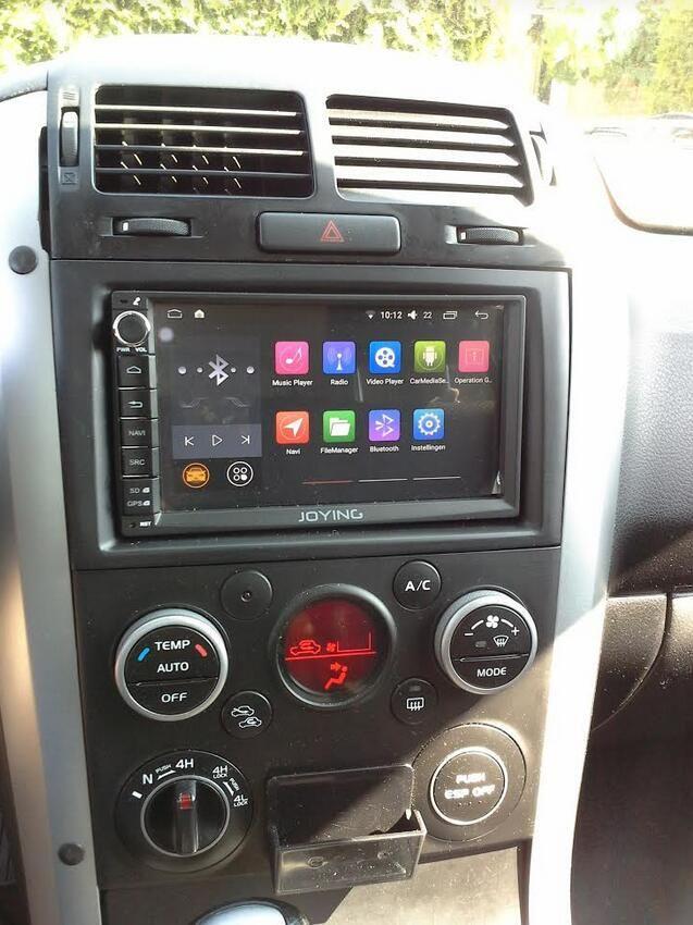"#Suzuki #Grand Vitara 2010 installed Joying 7"" Double Din head unit"
